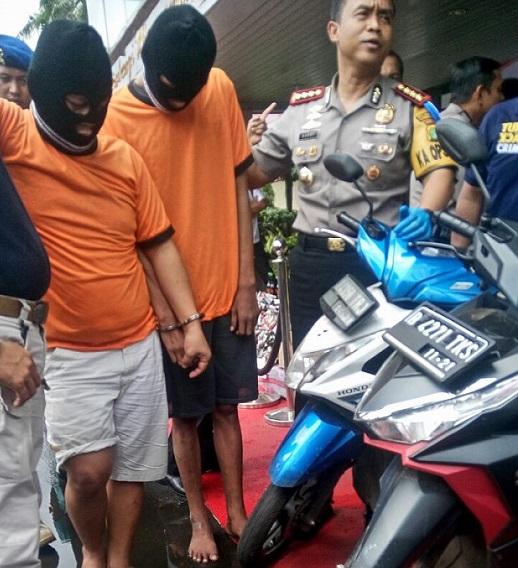 Enam Pencuri Ranmor Bersenpi Dibekuk Polrestro Tangerang Kota