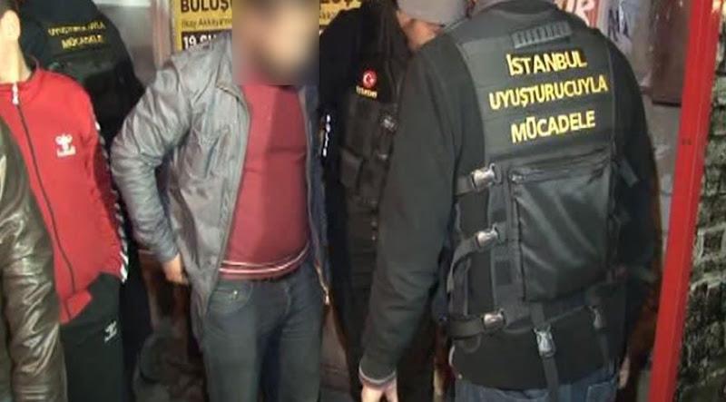 Sancaktepe'de uyuşturucu ve asayiş denetimi
