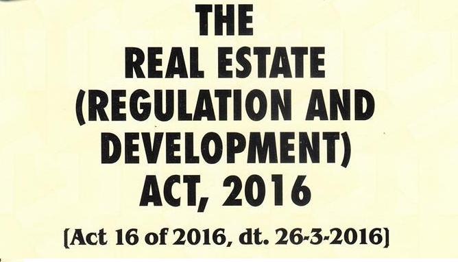 Senthil Kumar: [CA] Real Estate Act