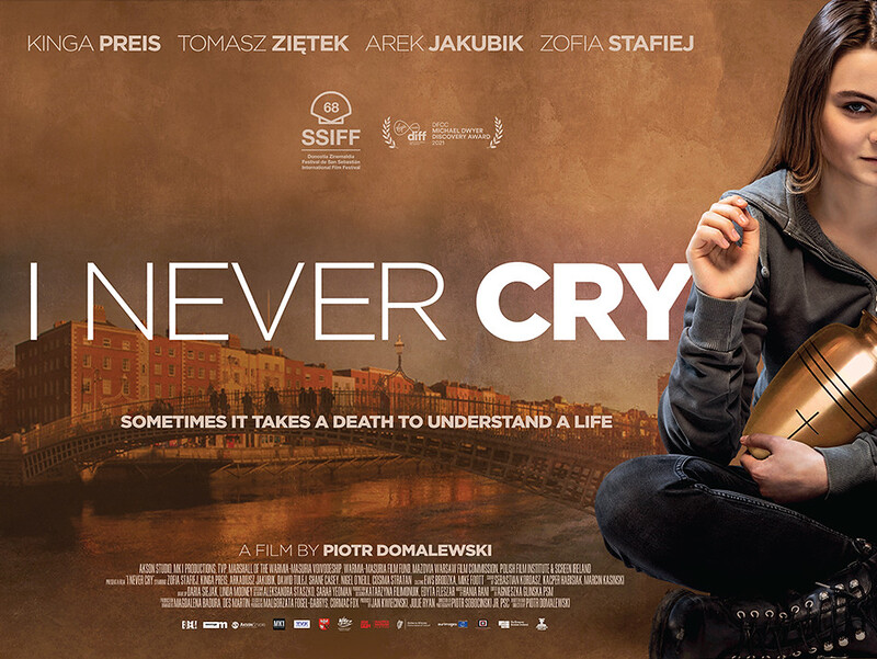 i never cry poster