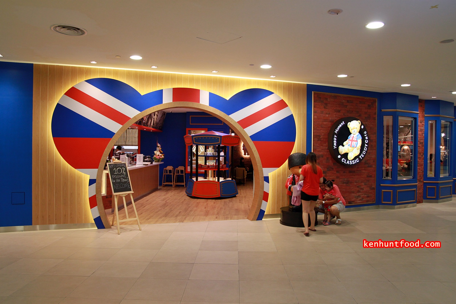 Ken hunts food classic teddy cafe 1st avenue mall for Terrace 9 classic penang