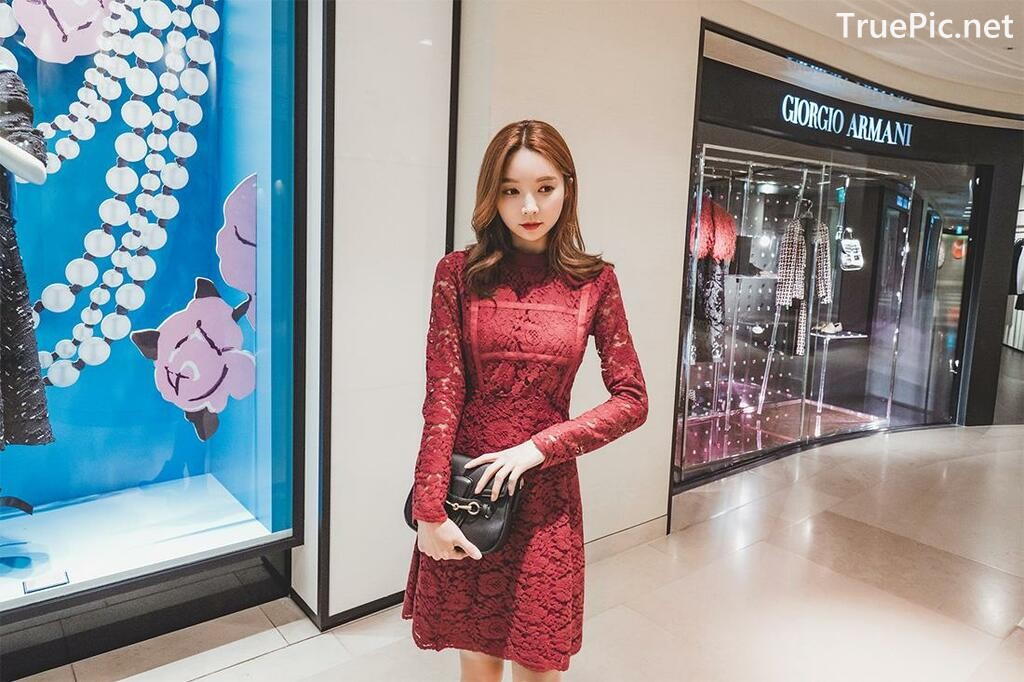 Image-Korean-Fashion-Model-Park-Soo-Yeon-Beautiful-Winter-Dress-Collection-TruePic.net- Picture-2