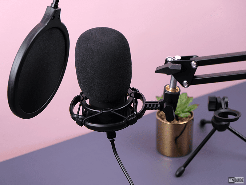 FIFINE T669 Studio Condenser USB Microphone Review - Bang for the buck Mic for Vid calls and gamers