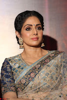 Sri Devi in designer saree stunning beauty at the launch of MOM movie Trailer~  Exclusive 114.JPG