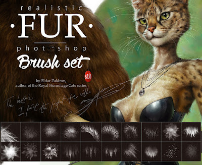 Fur PS Brushes Set