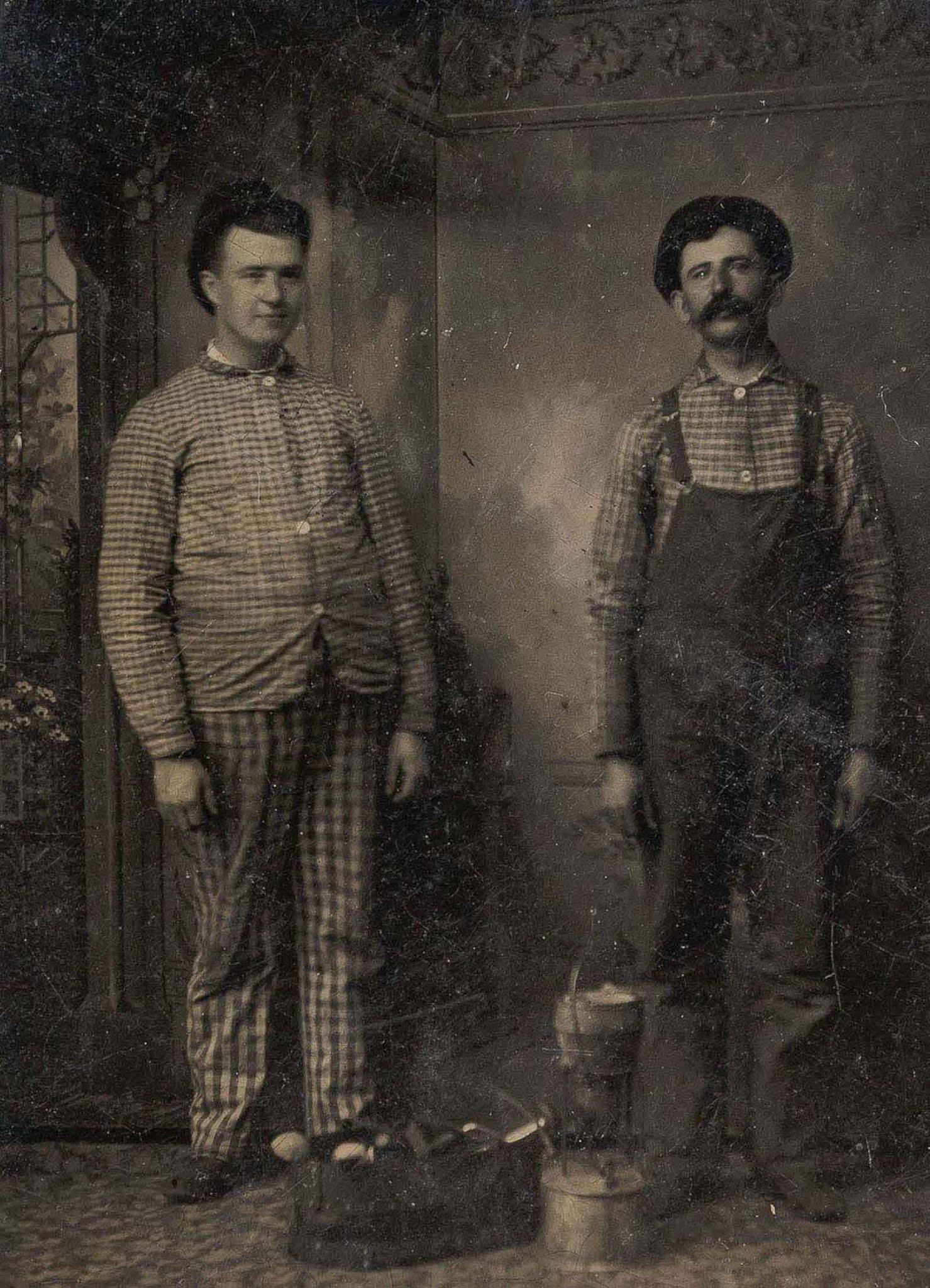 tintype Occupational portraits 19th century