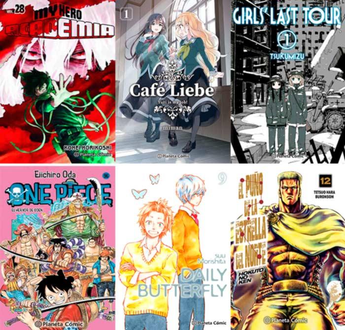 Novedades Planeta Comic septiembre 2021 - manga