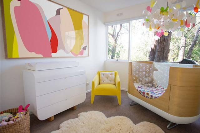 berços diferentes para quarto de bebe