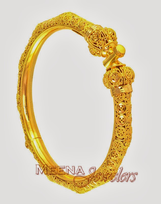 Pakistani Bridal Gold Bengals Jewelry Collection 4