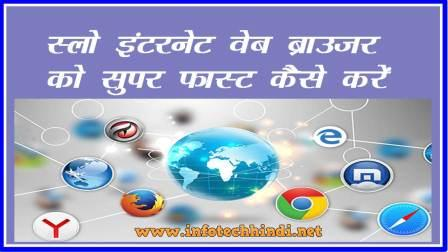 Internet Web Browser Speed up Your Internet