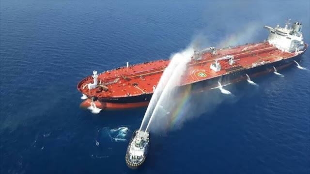 ¿De dónde son marineros que rescató Irán de petrolero siniestrado?