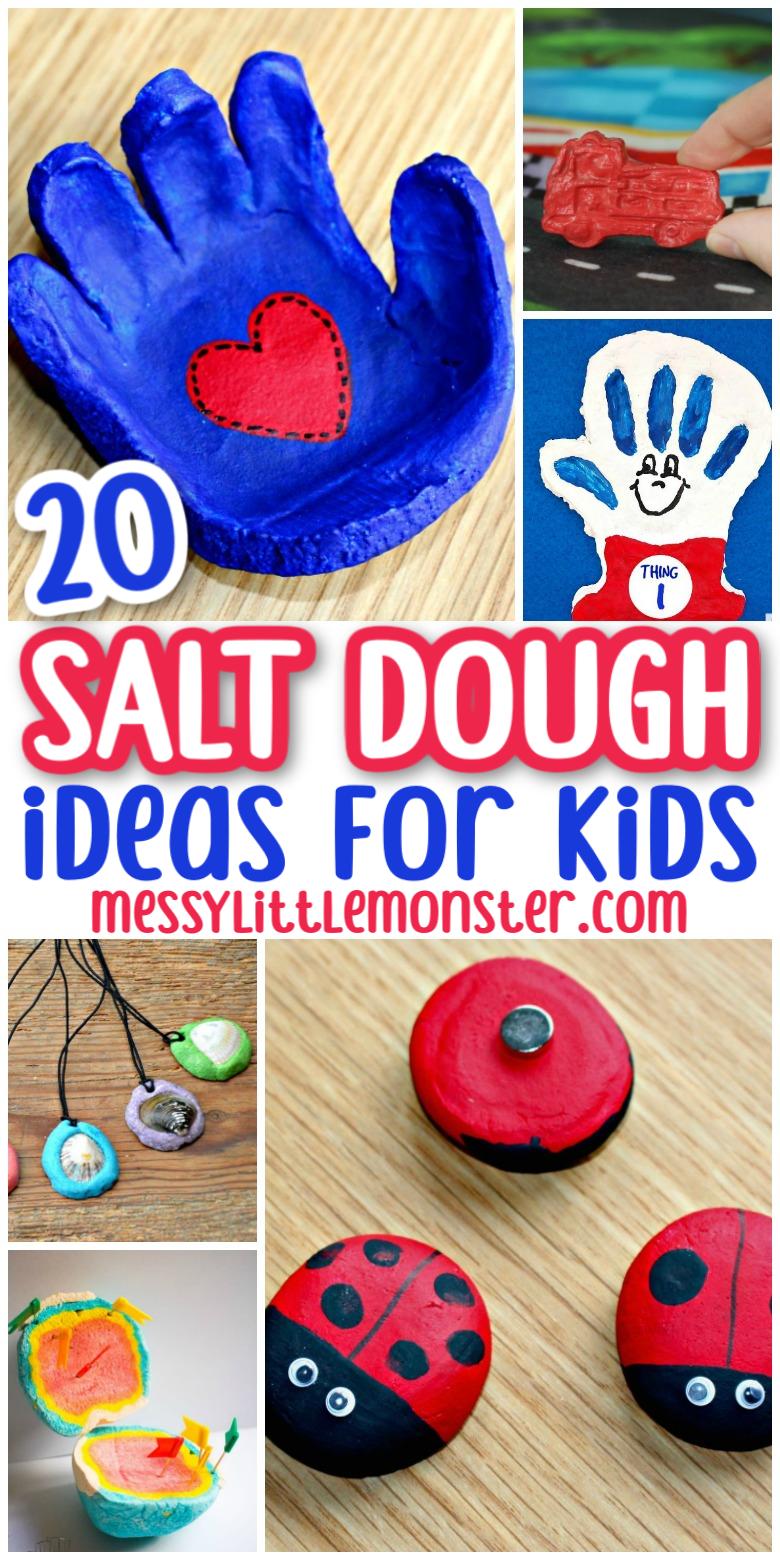 Easy salt dough craft ideas for kids