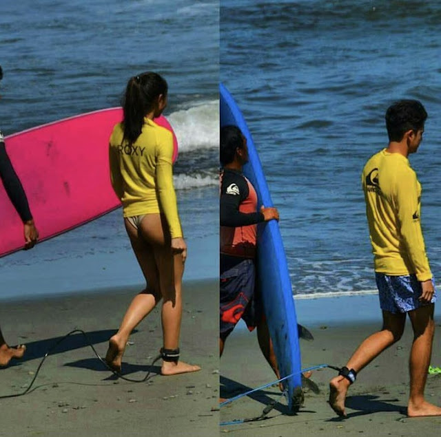 OMG! James Reid and Nadine Lustre Did This While They Were in Baler! Must See!