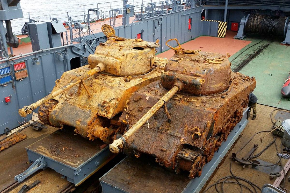 Historia y tecnología militar: Recuperación de tanques Sherman en Rusia