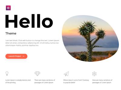 Templater Terbaik Wordpress Hello Elementor