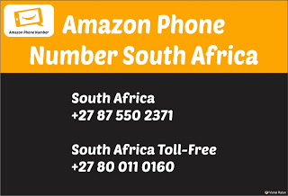 Amazon Phone Number South Africa