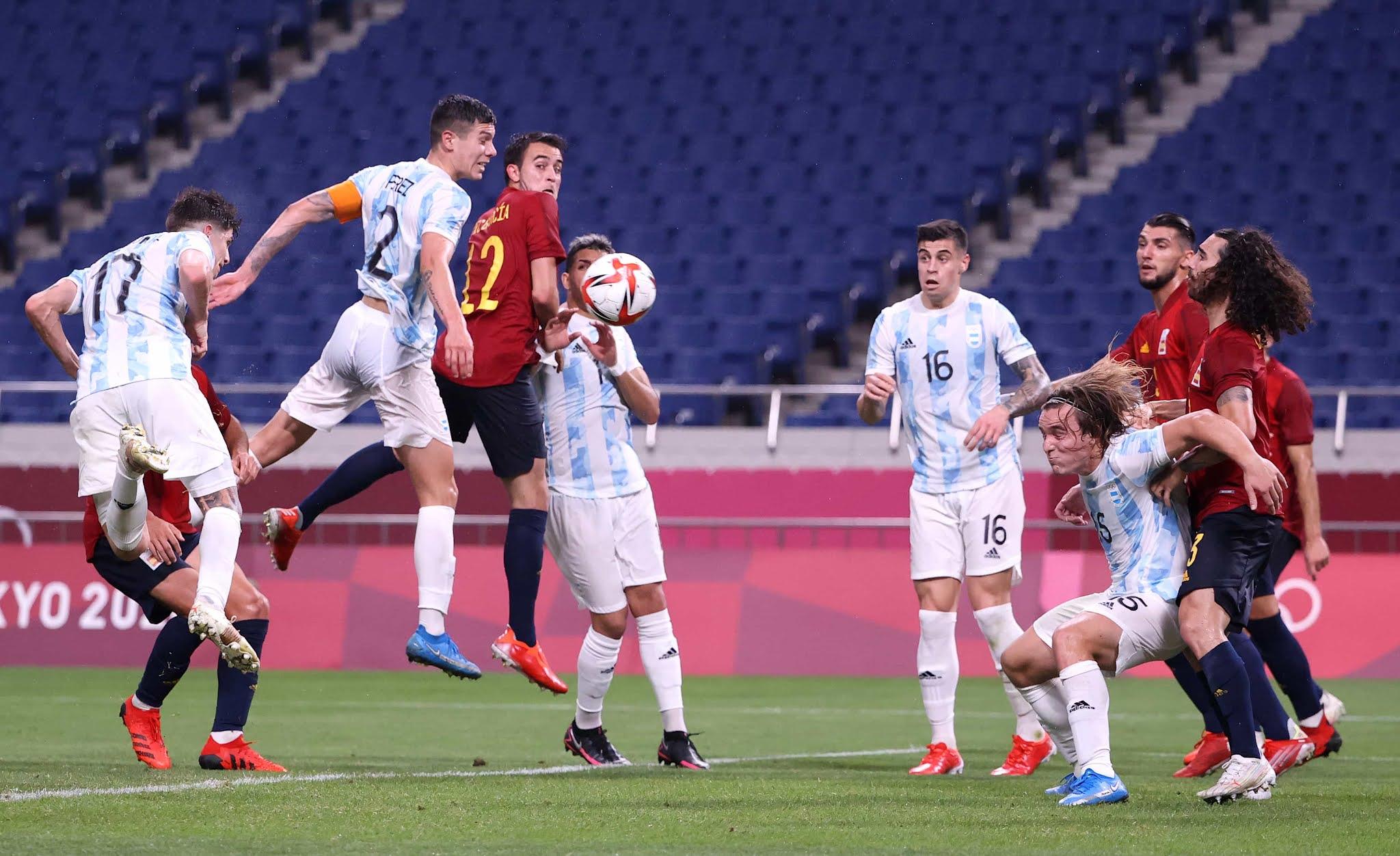 Argentina quedó eliminada de los Juegos Olímpicos de Tokio tras empatar con España