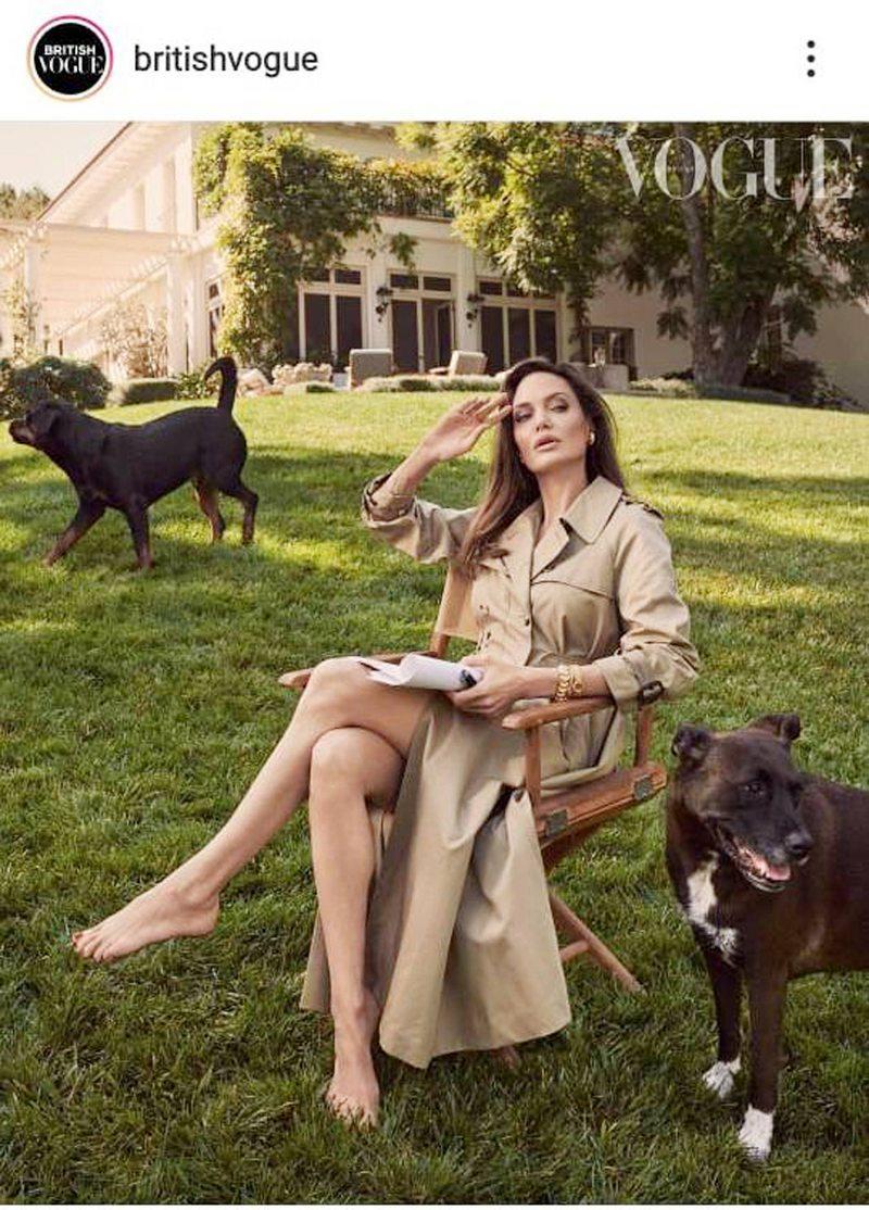 Angelina Jolie se sinceró sobre sus hijos