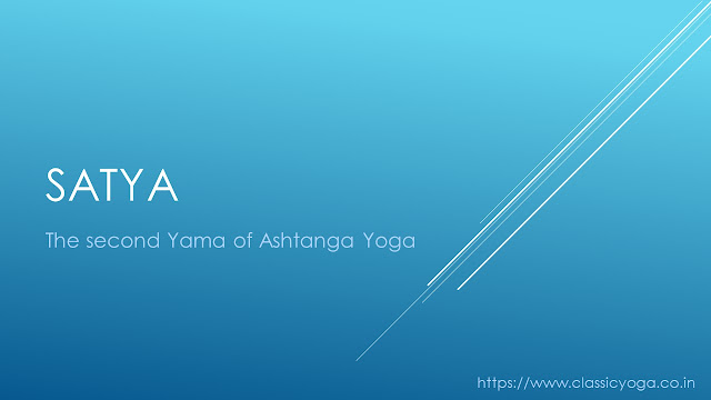 Satya: the second yama of asthanga yoga