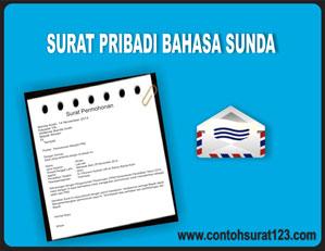 Gambar Contoh Surat Pribadi dalam Bahasa Sunda