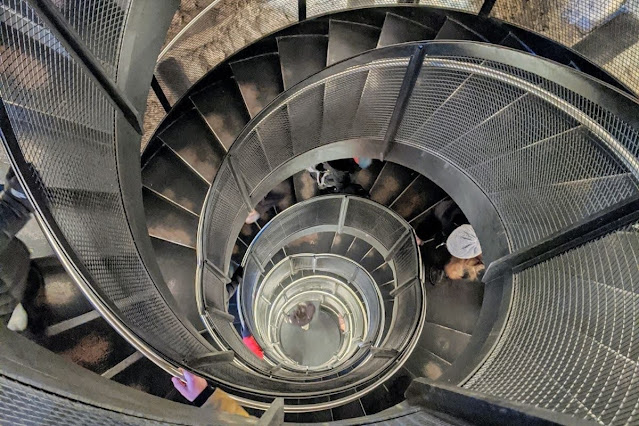 Innsbruck Card: Double Helix staircase at the Stadtturm