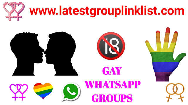 Join 1500+ Gay Whatsapp Group Links 2020