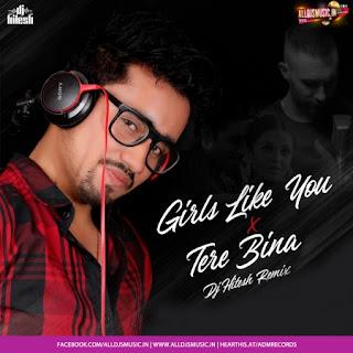 Girl Like You X Tere Bina (Mashup) - DJ Hitesh [NewDjsWorld.Com]