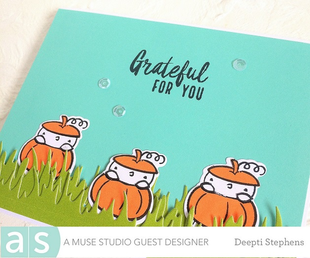 my cute halloween cards were up on a muse studio blog