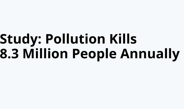 Fatality from pollution increases