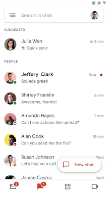 Google Chat will automatically suggest 1:1 chat based on your Google Calendar 2