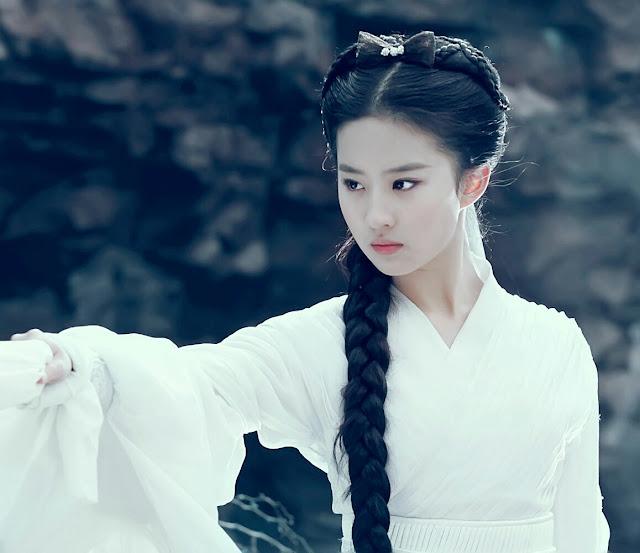 Crystal Liu as Little Dragon Girl 2006 ROCH