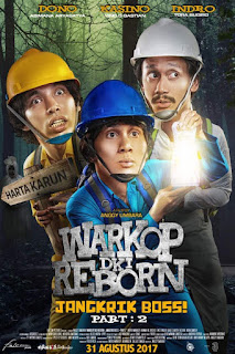 Download Film Warkop DKI Reborn: Jangkrik Boss! Part 2 (2017) WEB-DL