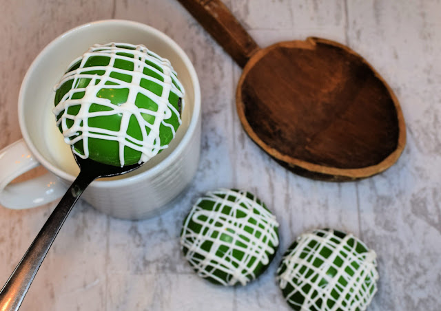 Green cocoa bombs