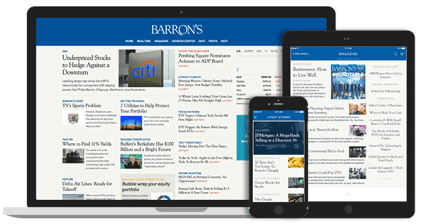 Why Barron's Digital Subscription is on the Rise