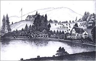 Friedrich von Lössl: Skizzenbuch Villen in Altmünster