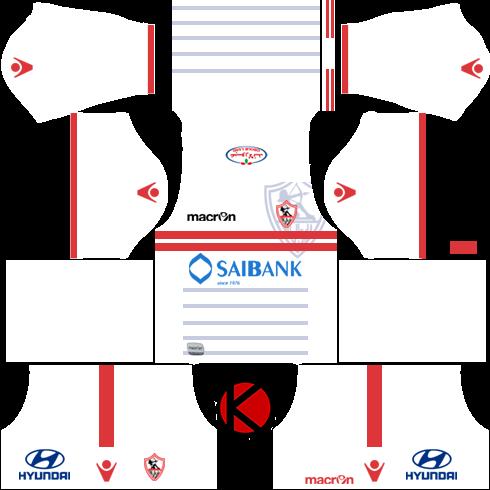 Al-Zamalek SC 2016/17 - Dream League Soccer Kits and FTS15