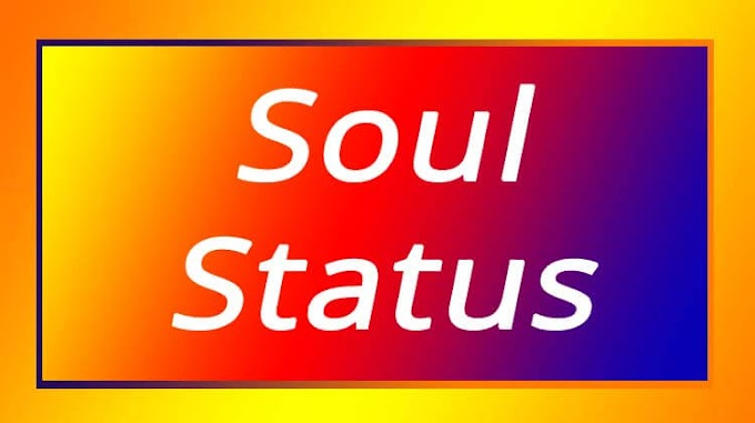 Soul Status For Whatsapp In English