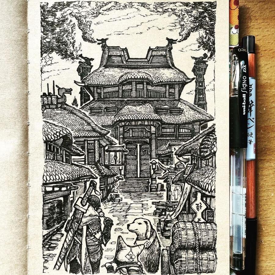 08-Kamura-village-Monster-Hunter-Rise-JR-www-designstack-co