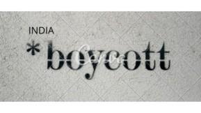 India boycott China