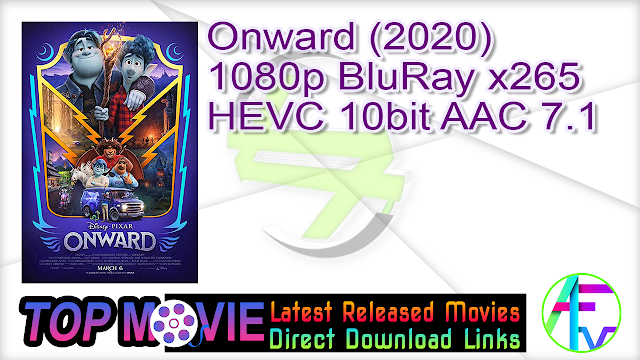 Onward (2020) 1080p BluRay x265 HEVC 10bit AAC 7.1