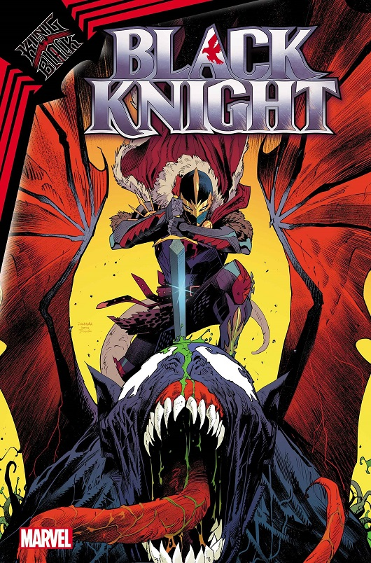 Cover of King in Black: Black Knight #1