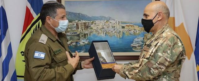 Στο ΓΕΕΦ ο Ταξίαρχος David Zini του Ισραήλ (ΦΩΤΟ)