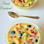 Fruit Custard Recipe | Mixed Fruit Custard | Fruit Salad with Custard Milk