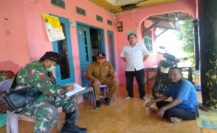 Cegah Penyebaran Covid-19, Pemerintah Desa Pamarayan Data Warga Pendatang