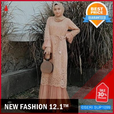 SUP1099N42 New Humaira Dress Muslim Brukat Terlaris BMGShop