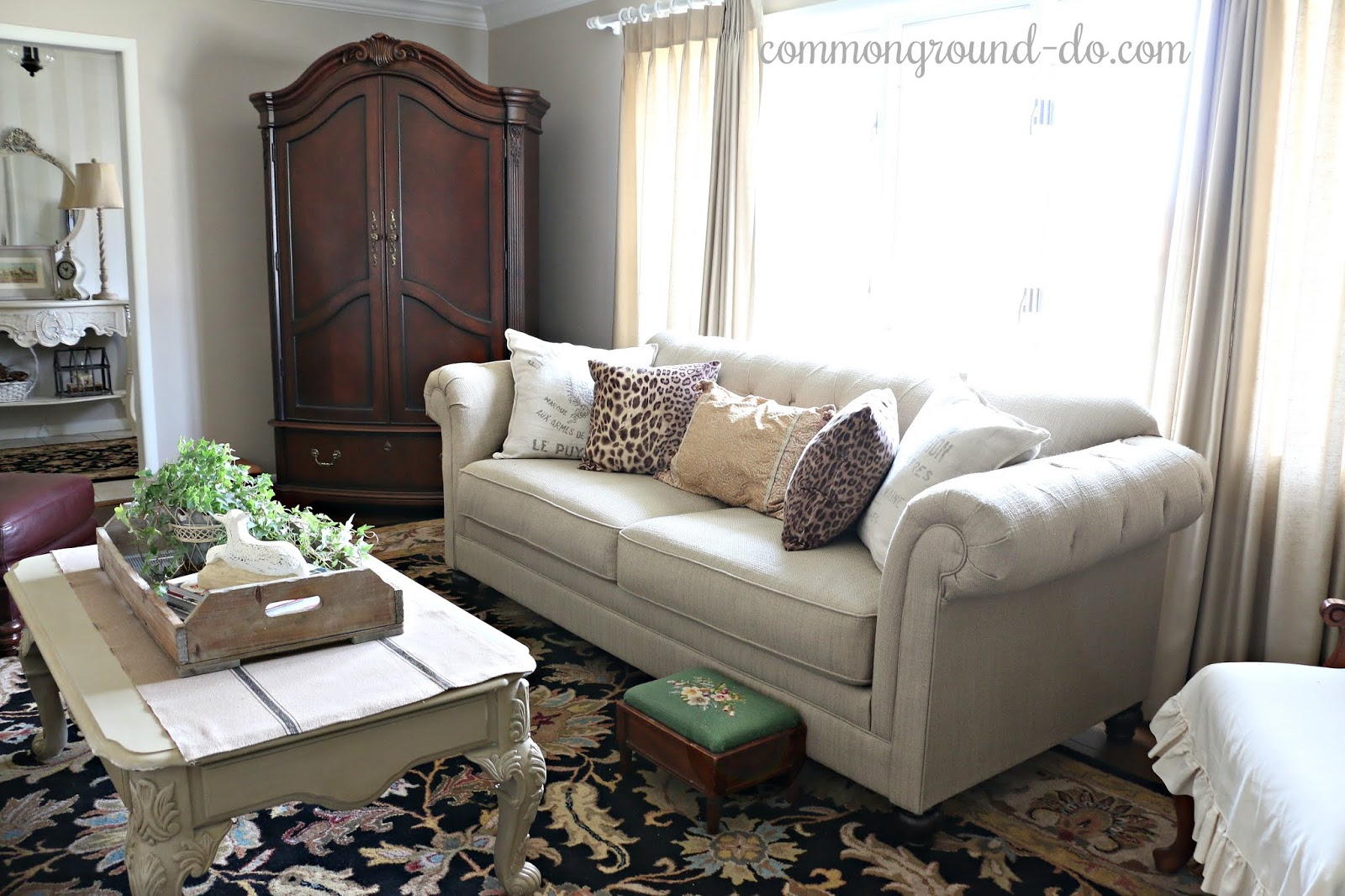Common Ground Update On New House Living Room