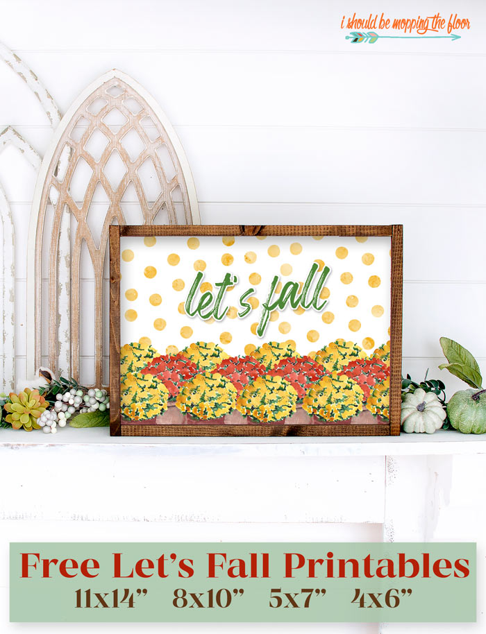 Free Fall Mums Printables