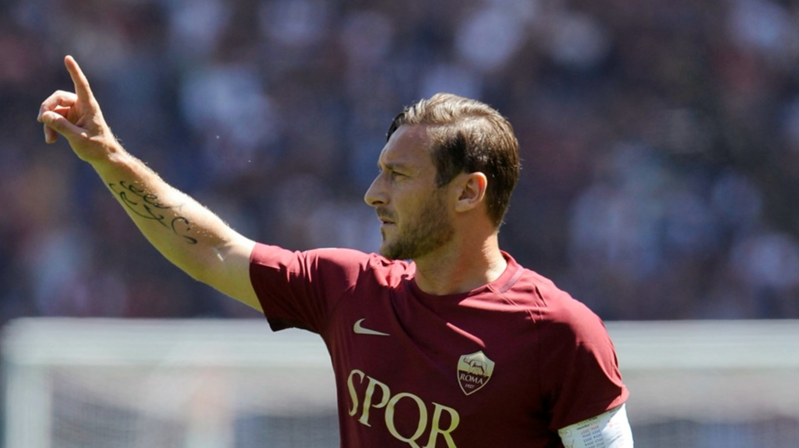 Totti scored most goals for AS Roma