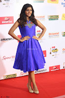 Eesha in Cute Blue Sleevelss Short Frock at Mirchi Music Awards South 2017 ~  Exclusive Celebrities Galleries 062.JPG