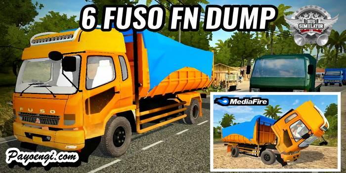 mod bussid fuso fn dump